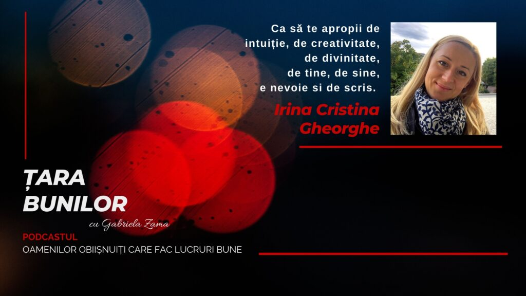 Cover YouTube Irina Gheorghe